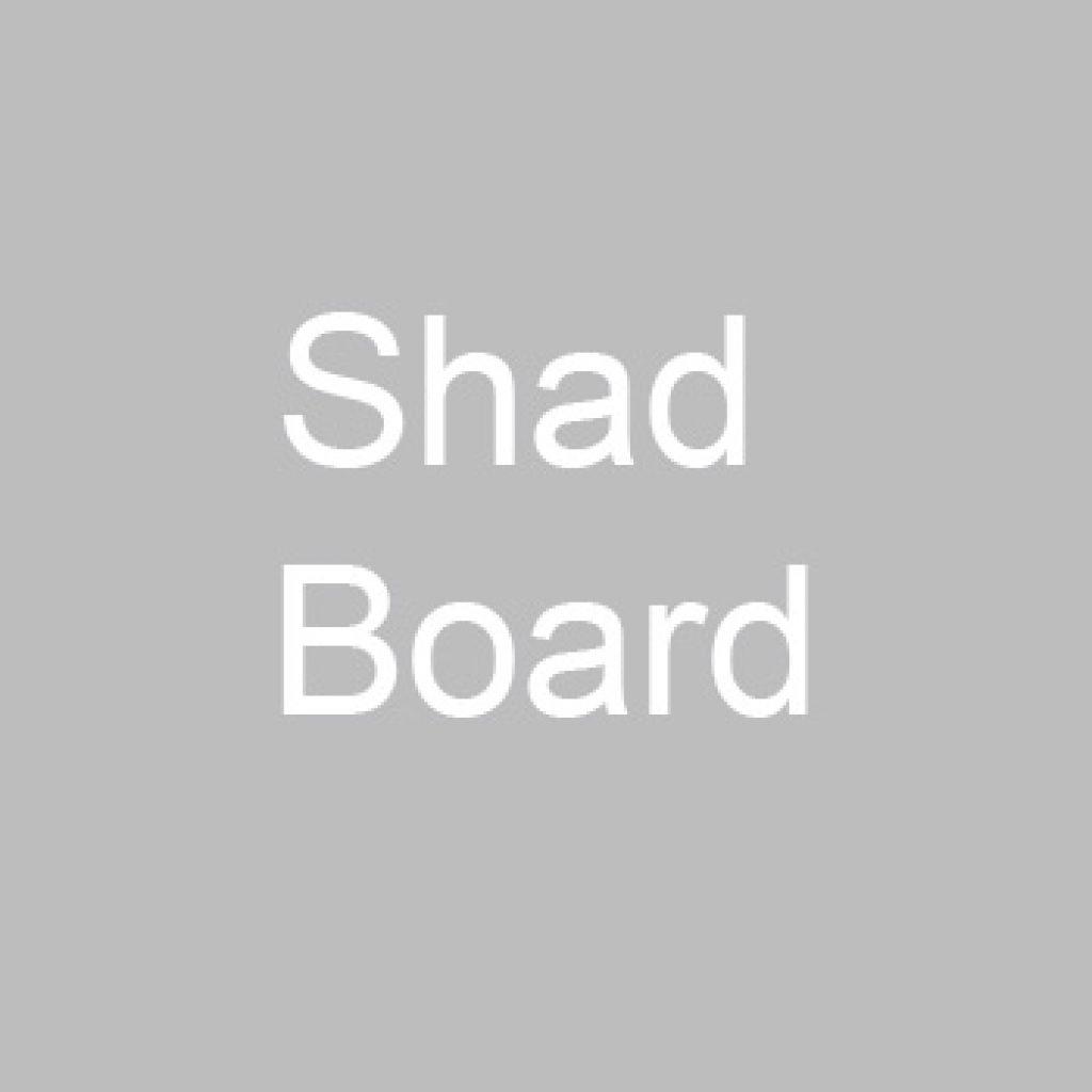 Shad Board logo.