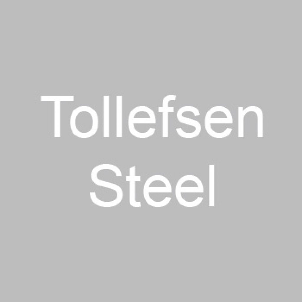 Tollefsen Steel logo.